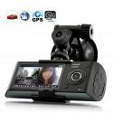 Caméra voiture FULL HD vision de nuit - GPS