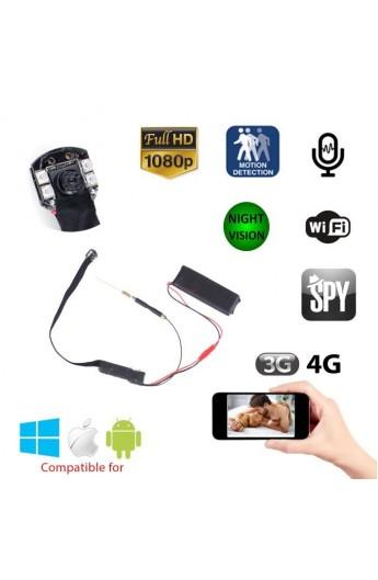 Caméra espion IP wifi Full HD vision de nuit