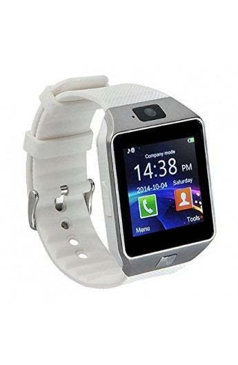 SMART Watch Camera Avec Carte SIM - WHITE