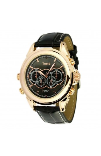 Montre Camera Espion TREND BLACK 8G