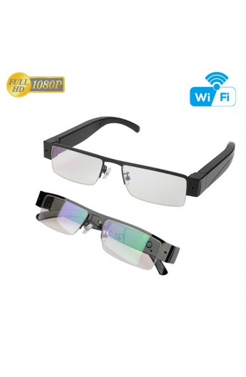 Lunette Camera espion FULL HD 1080P IP-WIFI