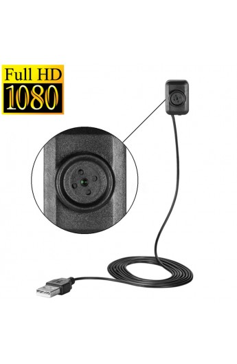 Bouton de chemise Camera espion FULL HD 1080P