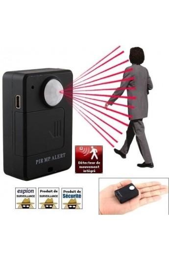 Micro GSM espion - Détecteur de Mouvement infrarouge