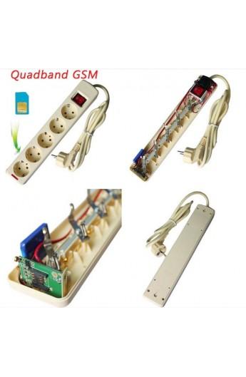 Multiprise avec Micro GSM Espion - Enregistrement Vocale