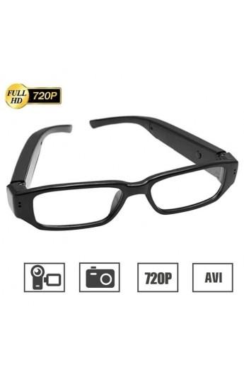 Lunette camera espion HD 720P Ultra Mince