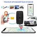 GPS Tracker Etanche aimanté - Longue Autonomie 10000 Mah