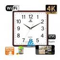 Horloge Murale Camera Espion IP-WIFI ULTRA HD 4K